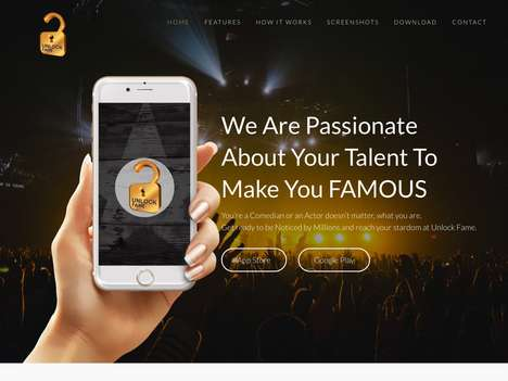 Talent Discovery Apps - The 'UnlockFame' App Lets Users Share Their Savvy Skills