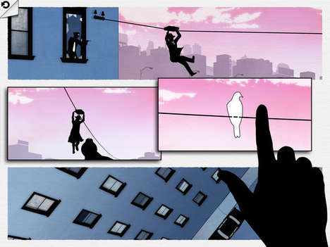 Interactive Comic Games - 'FRAMED' Challenges Players to Re-Order Comic Strips to Alter Gameplay