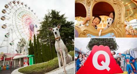Dog-Friendly Amusement Parks - Japan's Fuji-Q Highland is Letting Visitors Bring Pets to the Park