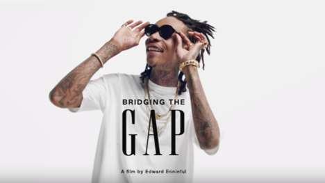 Celebrity-Studded Pride Commercials - Pop Culture Icons Star in Gap's Inclusive 'Bridge the Gap' Ad
