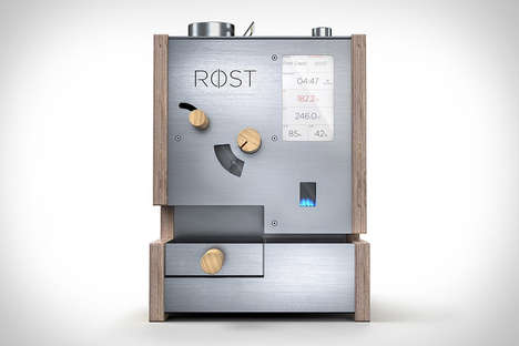 Customizable Coffee-Roasting Devices - The Rost Coffee Roaster Has Won a 'Best New Product' Award