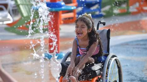 Accessible Water Park Designs - Morgan's Inspiration Island Was Created for People with Disabilities