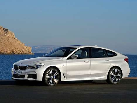 Luxury Family Wagon Updates - The New BMW 6 Series Gt Pairs Sleek Looks with Increased Cabin Space