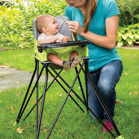 Folding Infant Feeding Chairs