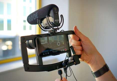 Videography Smartphone Mounts - The IOgrapher Smartphone Video Mount is Exceptionally Functional