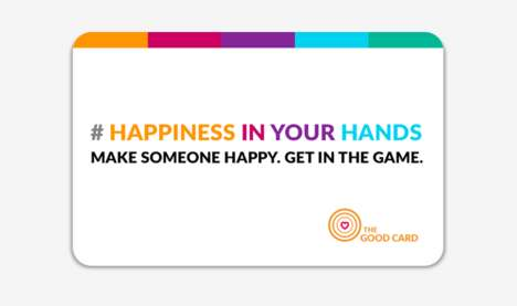 Good Deed Card Games - The Good Cards Tracks the Journey of a Good Deed