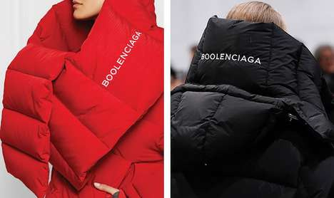 Designer Fashion Parody Lines - Boolenciaga is a Parody Fashion Label by Davil Tran