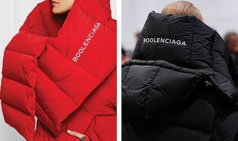 Designer Fashion Parody Lines