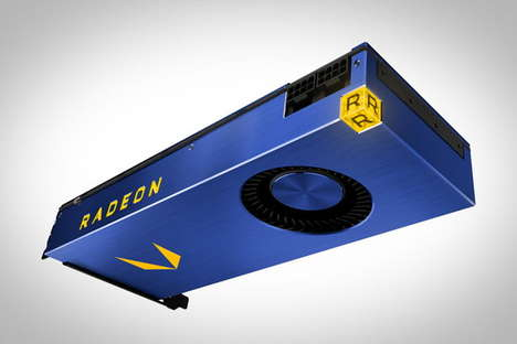 Powerful Luxury GPUs - The Radeon Vega Frontier Edition is a High-End Graphics Processor