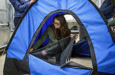Solar-Powered Tent Initiatives