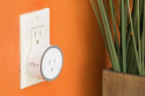 Voice-Enabled Smart Plugs - The 'intelliPLUG' WiFi Smart Plug Requires No Hub to be Used