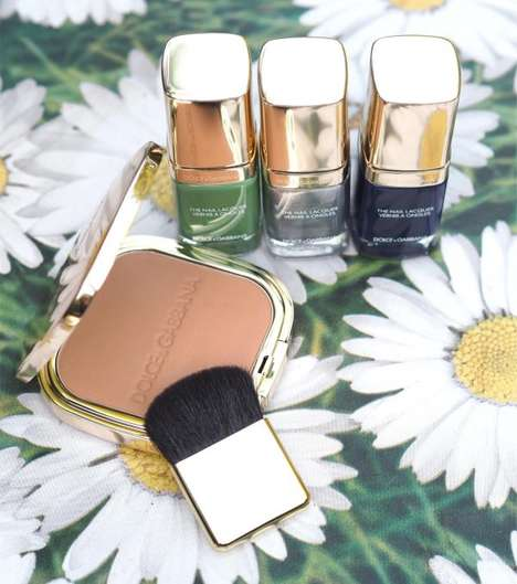 Cinematic Cosmetic Collections - The Summer Dance Cosmetics Collection from D&G is Glamorous