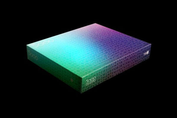 Oversized Gradient Jigsaw Puzzles