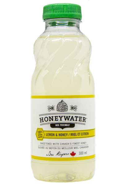 Honey Water Drinks - HoneyWater is Naturally Sweetened with Canadian Honey