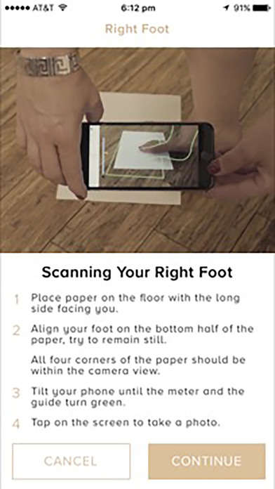 Foot-Scanning Apps - True Gault Scans Feet to Find the Perfect Pair of Heels