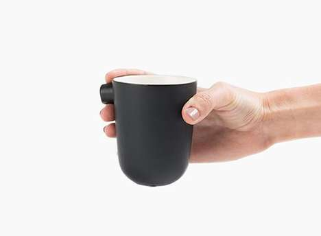 Handle-Free Coffee Mugs