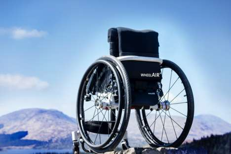 Wheelchair Cooling Systems - The WheelAir Helps Wheelchair Users Regulate Their Body Temperature