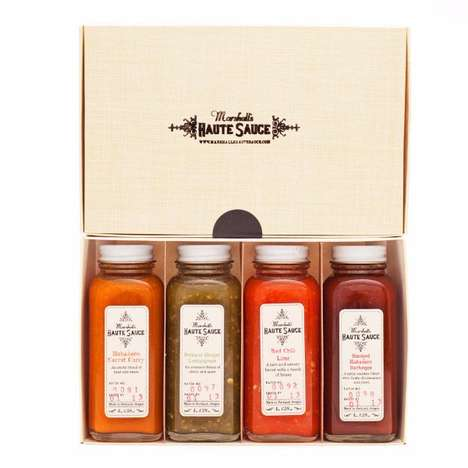 Gourmet Hot Sauce Kits - This Marshall's Haute Sauce Pack Features Four Best-Selling Varieties