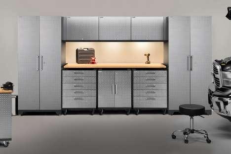 Modular Garage Storage Systems