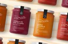 Agroforestry Produced Jams - Casa Dita's Jams are Offered Alongside Simple, Contemporary Branding