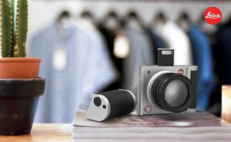Modular Camera Concepts - The Leica U Allows Components to be Attached or Removed