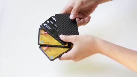 Carbon Fiber Wallets - The Pikaka Wallet's Anti-Degaussing Feature Protects Magnetized Cards