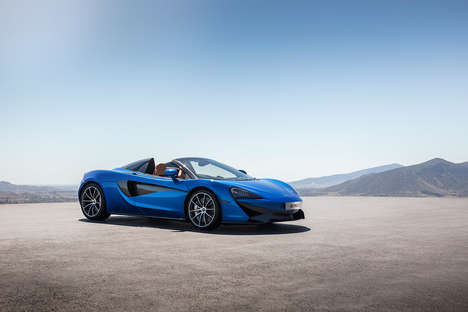 Attainable British Supercars - The McLaren 570S Spider Features Identical Specs to the 570S Coupe