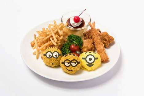 Minion-Themed Cafes - Japan's THE GUEST is Transforming Its Menu to Promote 'Despicable Me 3'