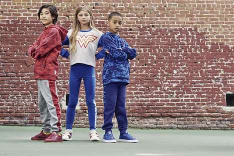 Superhero-Inspired Kids Clothing - PUMA x Justice League Lets Kids Dress Like Their Favorite Hero