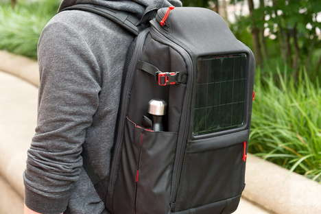 Solar-Powered Backpacks - The Voltaic Offgrid is Both Stylish and Cost-Effective