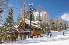 Ski-In Treehouse Chalets