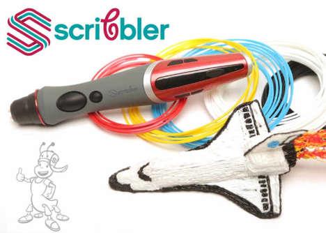 Dual-Nozzle 3D Printer Pens