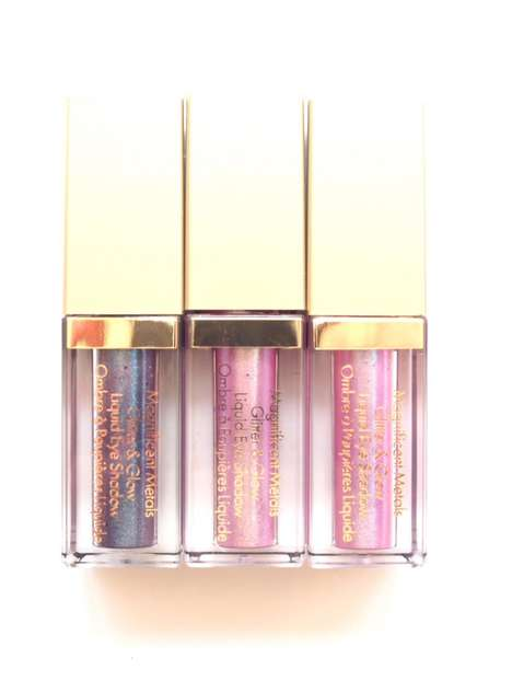 Mermaid-Inspired Cosmetics - The Stila Magnificent Metals Mermaid Liquid Shadows are Festival-Ready