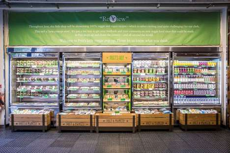 Vegan-Friendly Retail Fridges - Pret A Manger's Fridges are Filled with Plant-Based Foods for All