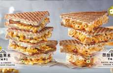 Cheesy Noodle Sandwiches