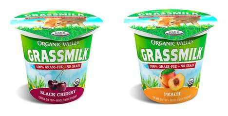Grass-Fed Cow Milk Yogurts