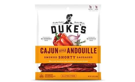 Cajun-Spiced Snack Sausages