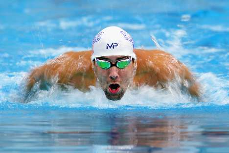 Shark-Racing Publicity Stunts - The Newest Michael Phelps Race Will Be Against a Great White