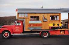 Converted Firetruck Homes