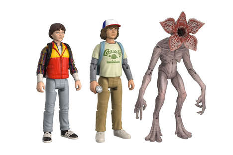 Supernatural Series Collectibles - These Stranger Things Figurines Feature Prominent Characters
