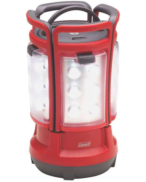4-in-1 LED Lanterns - The Quad LED Lantern from Coleman Can Be Broken Up into Four Portable Lamps