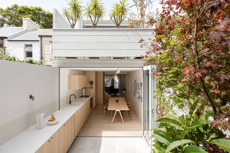 Patio-Connected Kitchen Concepts - Benn + Penna Architecture's Renovation Brings the Outdoors In