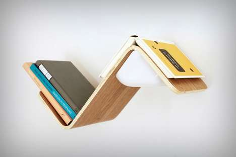 Light-Activated Book Shelves