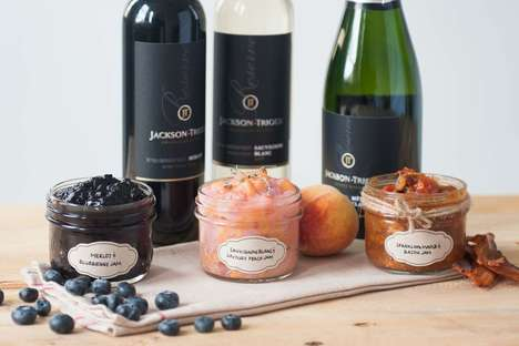 Patriotic Wine Jams - Jackson-Triggs' Wine-Infused Condiments Celebrate Canada Day