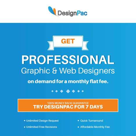 Unlimited Design Services - DesignPac Provides Professional Graphic Designs for a Monthly Flat Fee