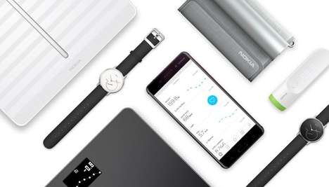Cellphone Brand Health Wearables - The Nokia Health Product Line Includes Two New Devices
