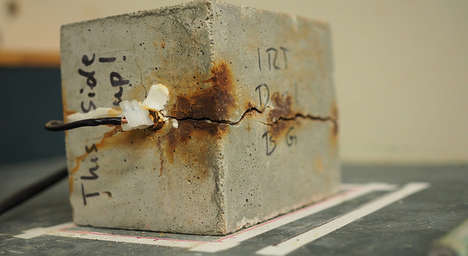 Tire-Infused Concrete - UBC Engineers Created Stronger Concrete Using Recycled Rubber Tires