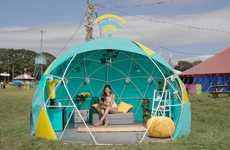 4G WiFi-Enabled Festival Tents