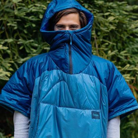 Weather-Resistant Camping Ponchos