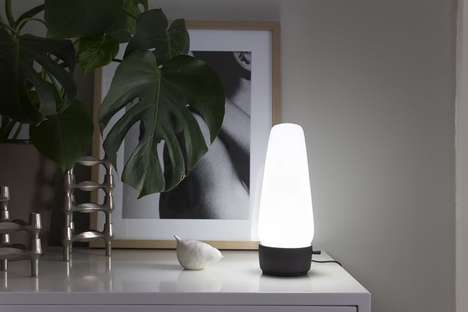 Discreet Home Automation Lamps - The 'COVI' Smart Home Hubs Blend Seamlessly into the Home